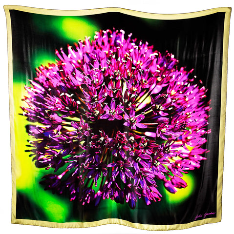 Purple Allium – Satin Silk