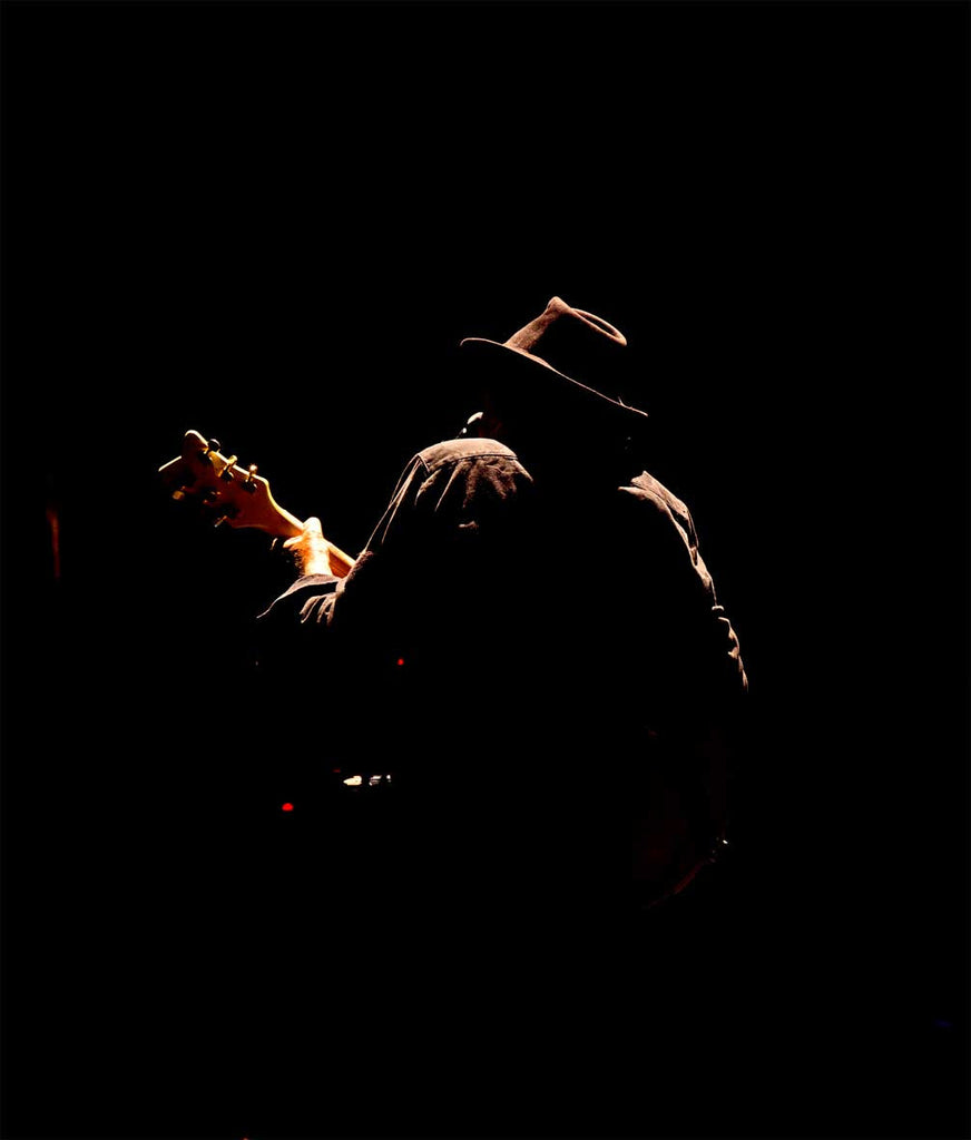 Neil Young, Red Rocks Silhouette - Exhibition