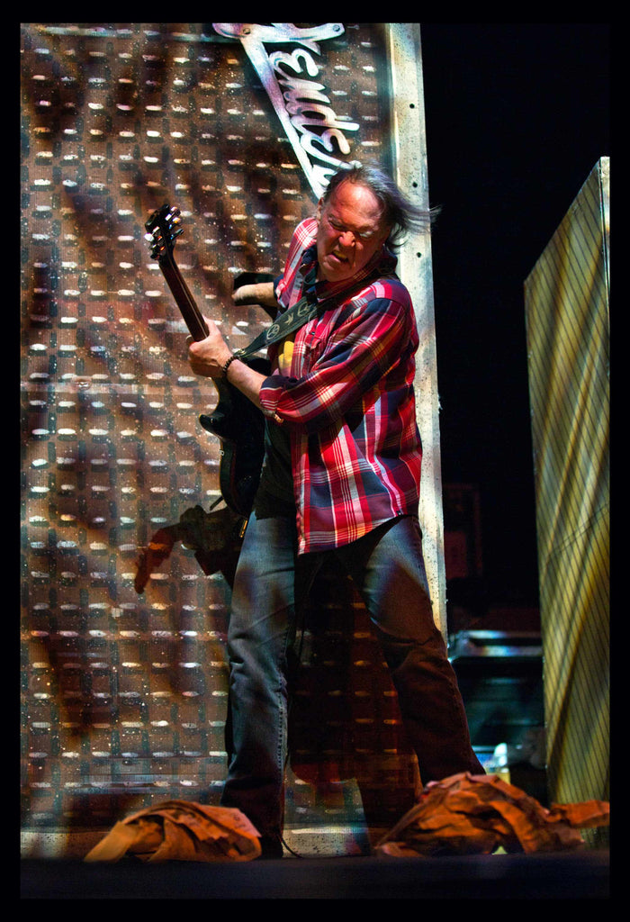 Neil Young & Crazy Horse - Philadelphia, 29th Nov 2012 - Exhibition