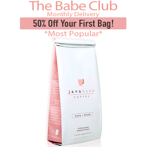Java Babe Coffee - BABE CLUB SALE! (50% Off Your First Order!)