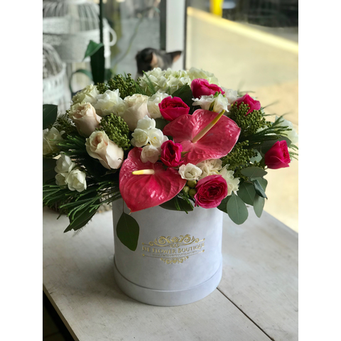 Dazzling Delight Box - NE Flower Boutique