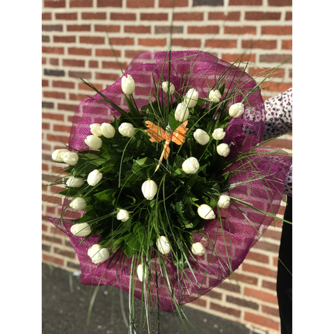 Timeless Tulips Bouquet - NE Flower Boutique
