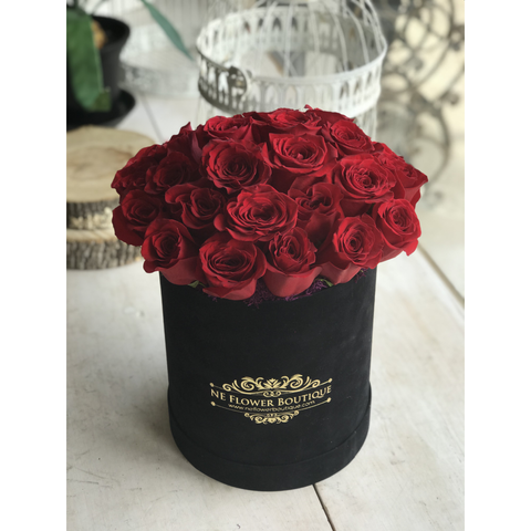 Velvet Love Box - NE Flower Boutique