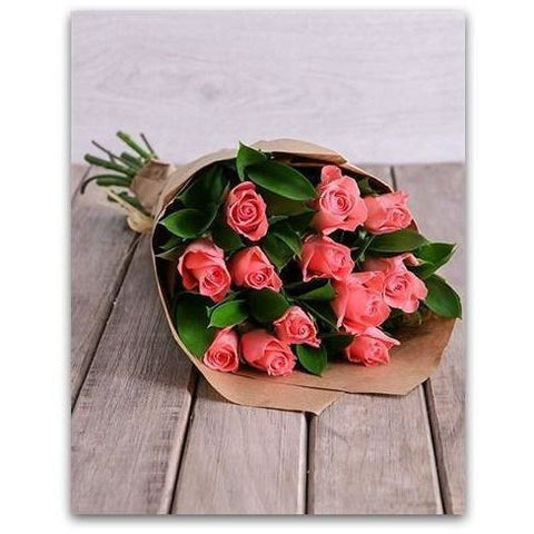 Pink Dozen for Love---PDL--- - NE Flower Boutique