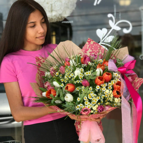 Endless Spring Bouquet - NE Flower Boutique