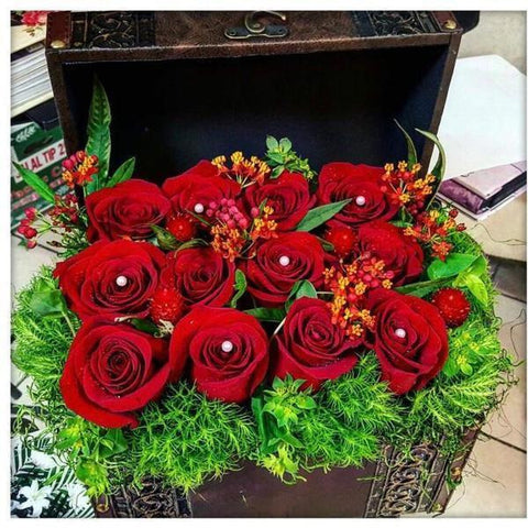 Red Treasure - NE Flower Boutique