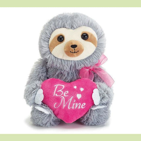 Be Mine Sloth Plush - NE Flower Boutique