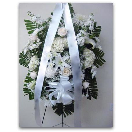 All White Love - NE Flower Boutique