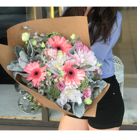 Magnificent Pink Bouquet - NE Flower Boutique