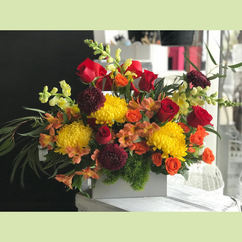 Charming Sunrise - NE Flower Boutique