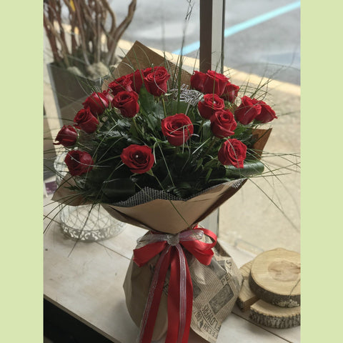 Two Dozen Roses - NE Flower Boutique