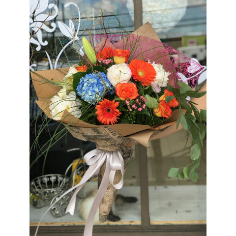 Orange Love - NE Flower Boutique