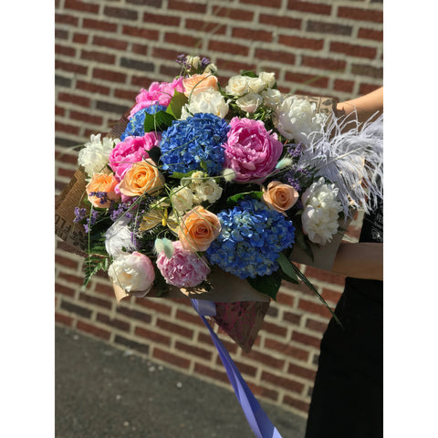 Peony Paradise Bouquet - NE Flower Boutique