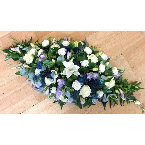 Island Memories Casket Spray - NE Flower Boutique
