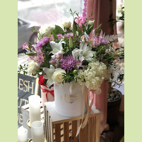 Lovely Lavender Box - NE Flower Boutique