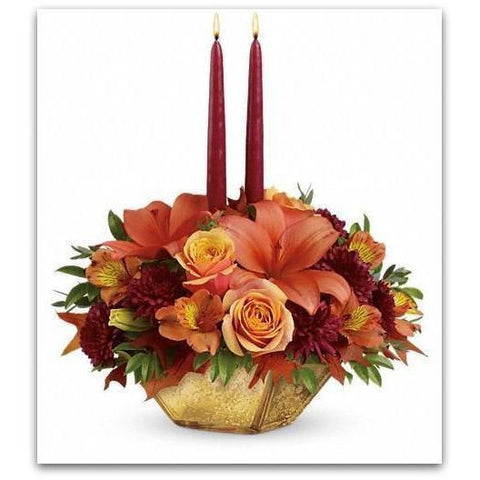 Candle Light Fall - NE Flower Boutique