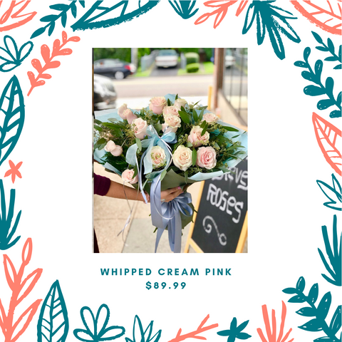 Whipped Cream Pink - NE Flower Boutique, florist in Philadelphia