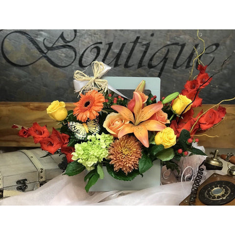 Tiger Orange Blooms - NE Flower Boutique