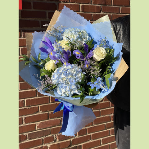 Blue and White - NE Flower Boutique