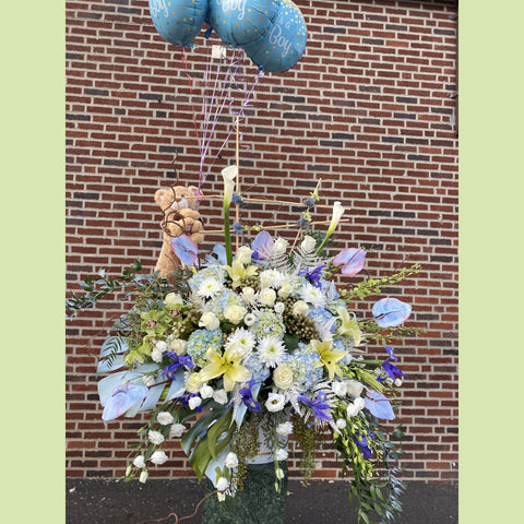 Welcome Baby Boy - NE Flower Boutique