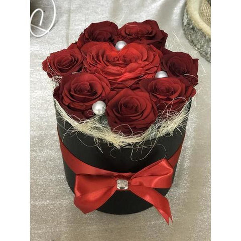 Deep Red Love - NE Flower Boutique
