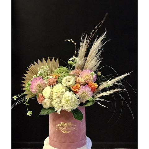 Pastel Box of Style - NE Flower Boutique