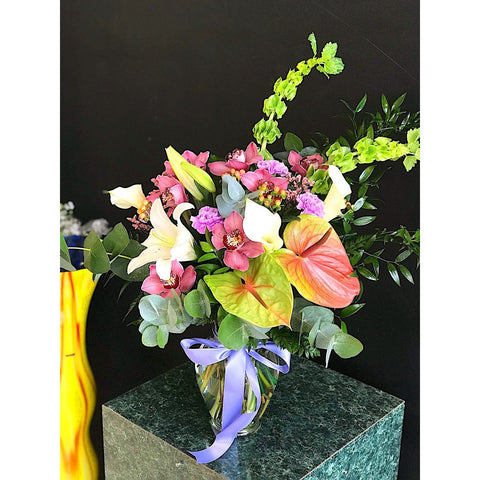 Tropical Dream Vase - NE Flower Boutique