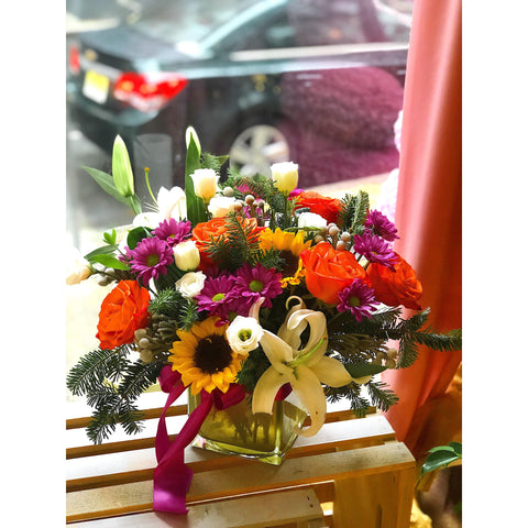 Bright and Happy - NE Flower Boutique
