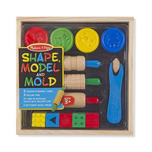 Melissa & Doug, Melissa & Doug - Shape, Model & Mold Play Clay, Toys