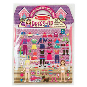 Melissa & Doug, Melissa & Doug - Puffy Stickers Play Set, Dress-Up, Toys