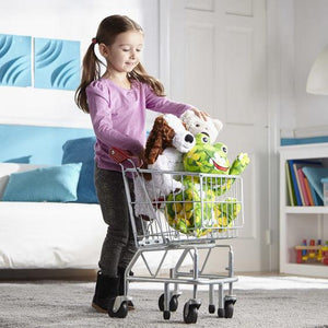 Melissa & Doug, Melissa & Doug - Shopping Cart, Metal Grocery Wagon, Toys