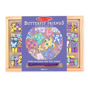 Melissa & Doug, Melissa & Doug - Butterfly Friends Bead Set, Toys