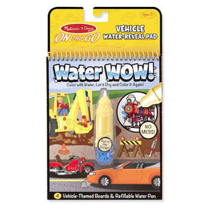 Melissa & Doug, Melissa & Doug - Water WOW! Vehicles, ON the GO Travel Activity, Toys