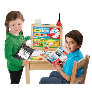 Melissa & Doug, Melissa & Doug - School Time! Classroom Play Set, Toys