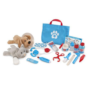 Melissa & Doug, Melissa & Doug - Examine & Treat Pet Vet Play Set, Toys
