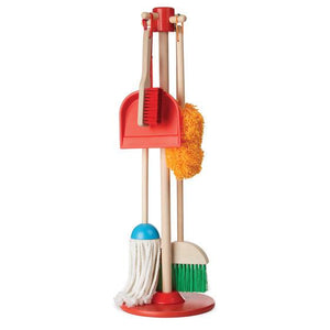 Melissa & Doug, Melissa & Doug - Let's Play House! Dust, Sweep & Mop!, Toys