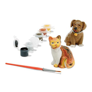 Melissa & Doug, Melissa & Doug - Decorate-Your-Own Pet Figurines, Toys
