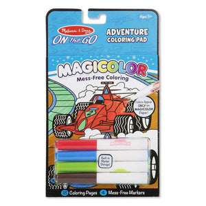 Melissa & Doug, Melissa & Doug - Magicolor, On the Go, Games & Adventure Coloring Pad, Toys