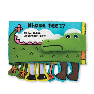Melissa & Doug, Soft Activity Book - Whose Feet?, Toys
