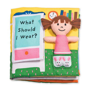 Melissa & Doug, Melissa & Doug - Soft Activity Book, What Should I Wear?, Toys