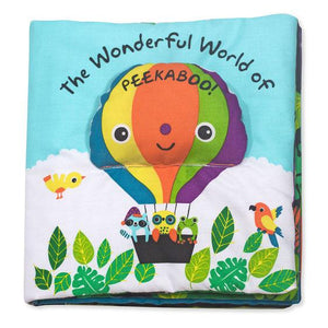 Melissa & Doug, Melissa & Doug - Soft Activity Book, The Wonderful World of Peekaboo!, Toys