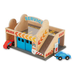 Melissa & Doug, Melissa & Doug - Service Station Parking Garage, Toys