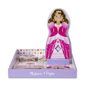 Melissa & Doug, Melissa & Doug - Crowns & Gowns Magnetic Dress-Up Set, Toys
