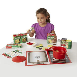 Melissa & Doug, Melissa & Doug - Prepare & Serve Pasta Set, Toys