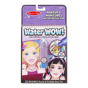 Melissa & Doug, Melissa & Doug - Water Wow! Makeup & Manicures, ON the GO Travel Activity, Toys