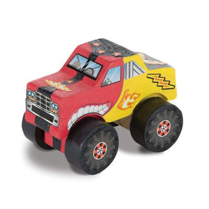 Melissa & Doug, Melissa & Doug - Decorate-Your-Own Monster Truck, Toys