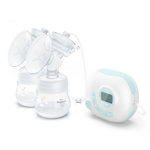 Double Electric Breast Pump (Blue)