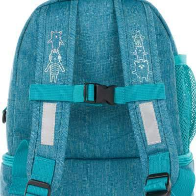 Lassig, 1203001424 - Mini Backpack About Friends mélange blue, Bags