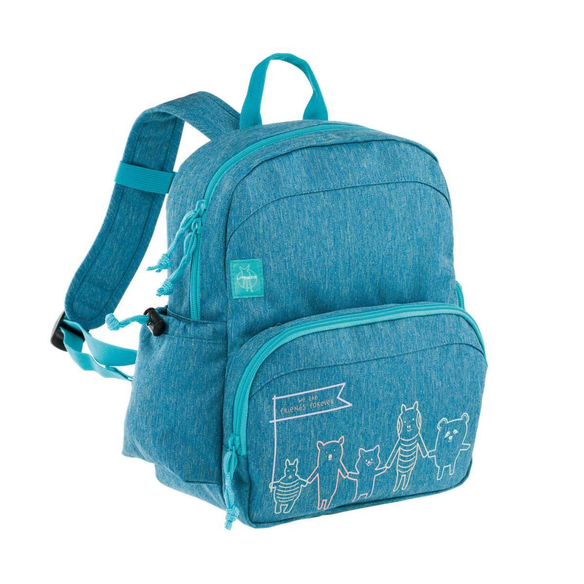 --Lassig, Medium Backpack About Friends mélange, Bags--