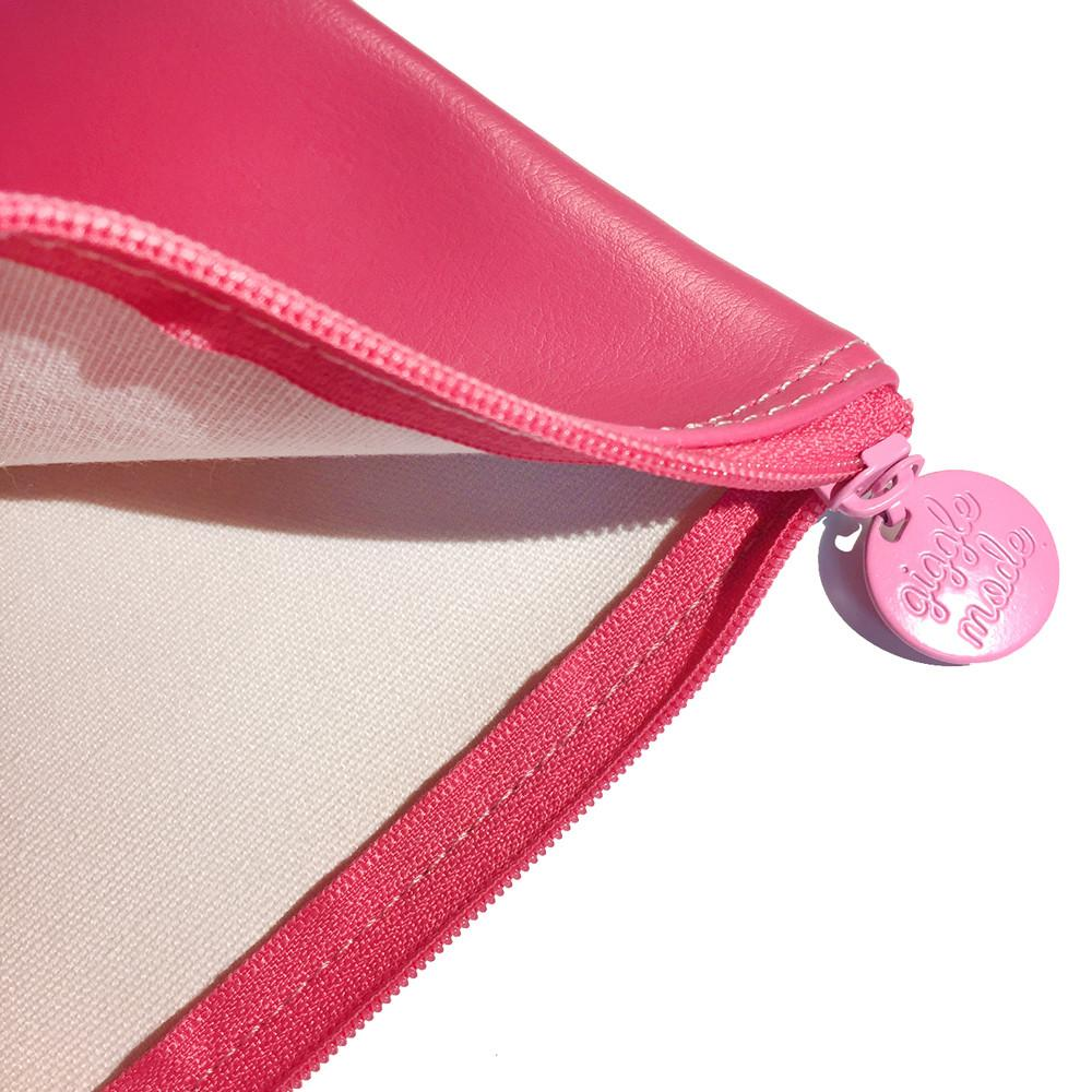 Giggle Mode, pink monalisa pouch (PU), Accessories